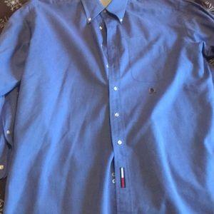 Tommy Hilfiger dress shirt 17.5-34-35 original ox